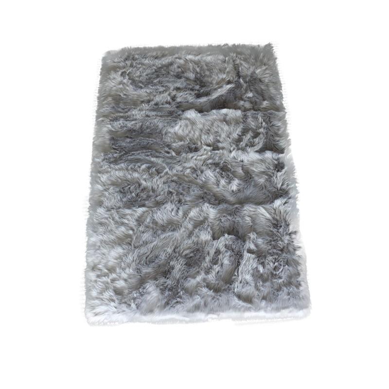 Plush Faux Fur Rug 180x120cm