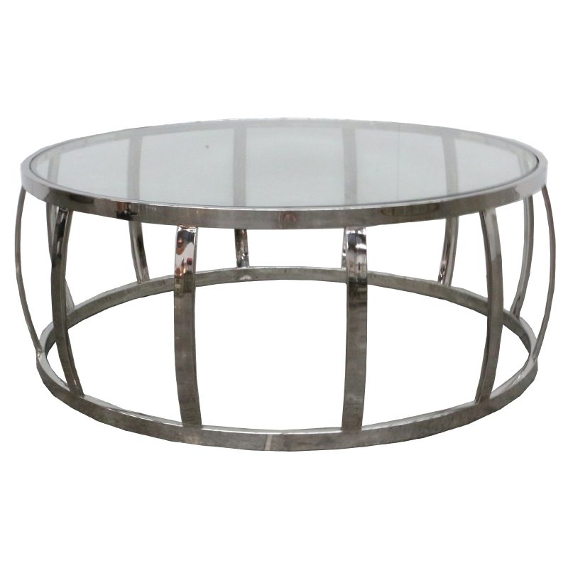 Drum Coffee Table Polished