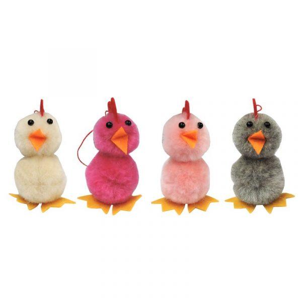 Easter Fluffy Chick Asstd