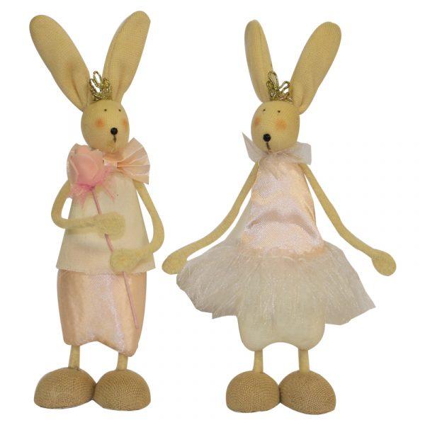 Easter Satin Bunnies 2 Asstd