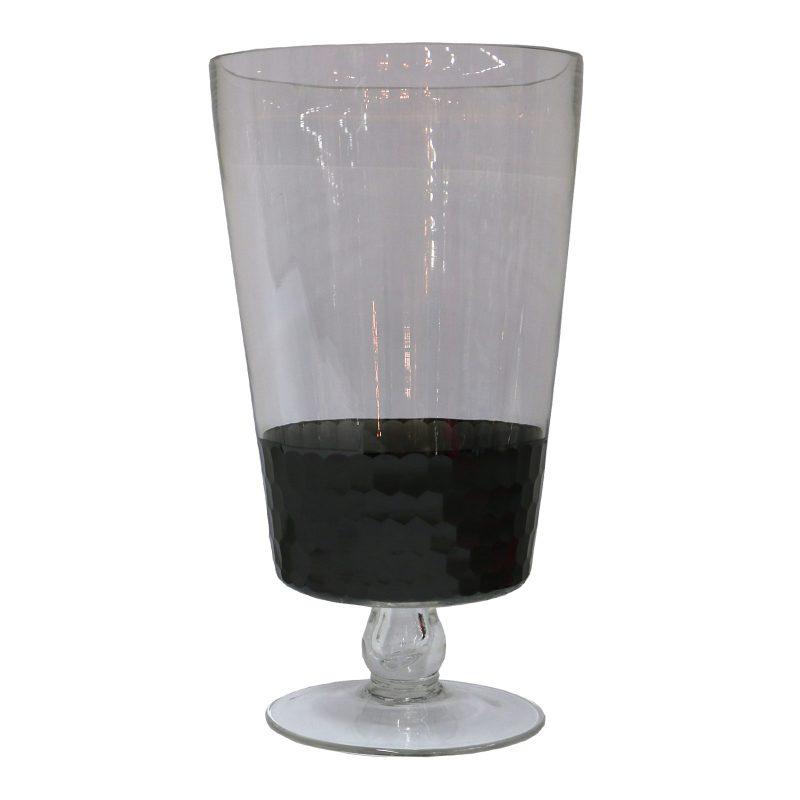 Honeycomb Vase Large Grey Le Forge