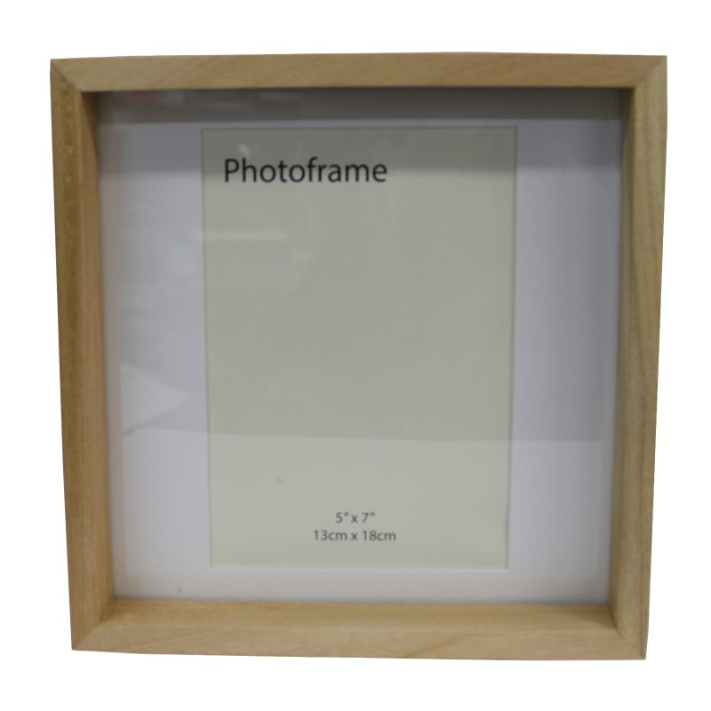Sydney Photo Frame 6x4 White & Natural - Le Forge