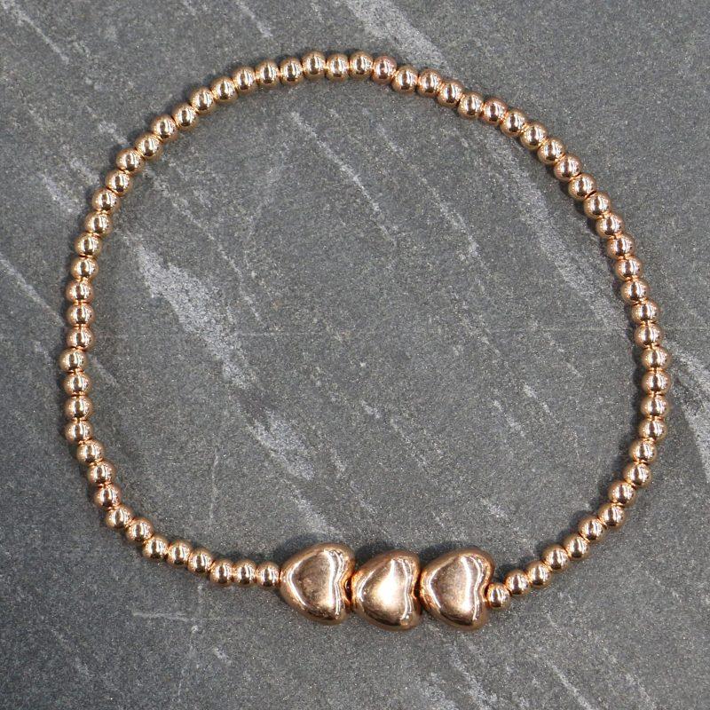 Triple Heart Bracelet